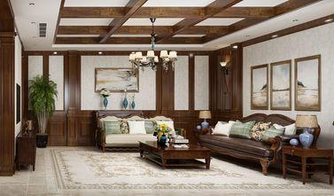 140平米别墅英伦风格客厅装修图片大全