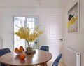 90平米三室一厅宜家风格餐厅家具装修图片大全