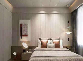 80平米英伦风格卧室设计图