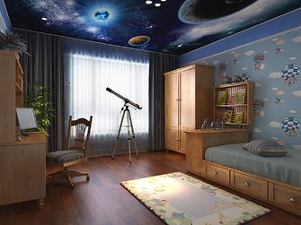 110平米三室两厅欧式风格儿童房装修图片大全