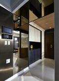 130平米三室两厅其他风格玄关效果图