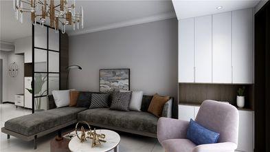 100平米三室三厅美式风格客厅欣赏图