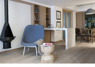 140平米三室一厅美式风格客厅装修案例
