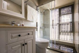 120平米三室两厅美式风格卫生间图片大全