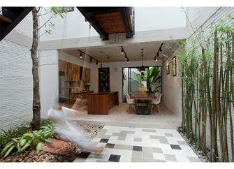 50平米田园风格餐厅效果图