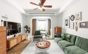 120平米三室一厅其他风格客厅装修效果图