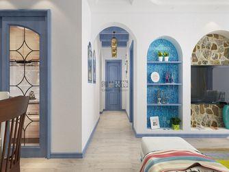 110平米三室两厅地中海风格走廊装修图片大全