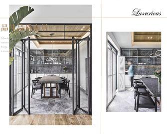 豪华型140平米三室两厅现代简约风格餐厅欣赏图