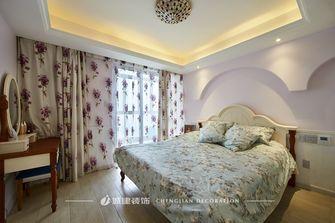 140平米四室两厅地中海风格卧室欣赏图