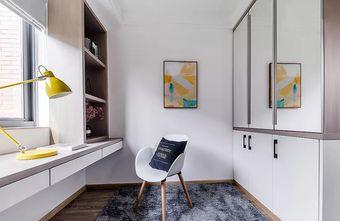 90平米三室两厅北欧风格书房装修效果图