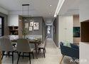 100平米三室一厅宜家风格走廊图片