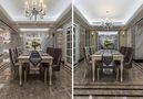 140平米四室三厅新古典风格餐厅装修效果图