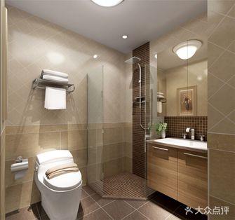 90平米三室一厅现代简约风格卫生间浴室柜装修案例