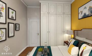 90平米三室三厅中式风格卧室图片