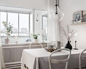 80平米北欧风格餐厅图片
