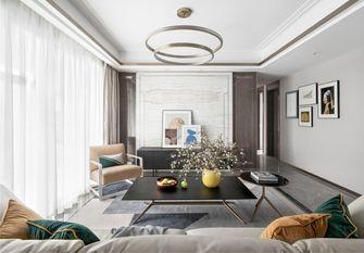 110平米四室一厅现代简约风格客厅装修案例