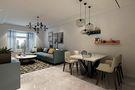 70平米一居室地中海风格客厅图片大全