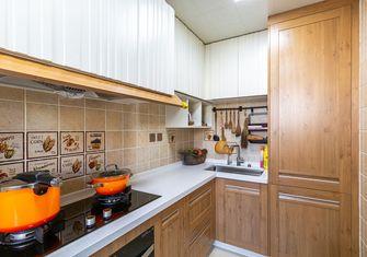 120平米三室两厅田园风格厨房设计图