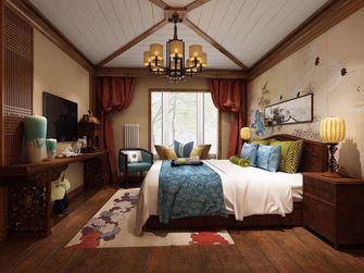 110平米三室两厅混搭风格卧室家具效果图