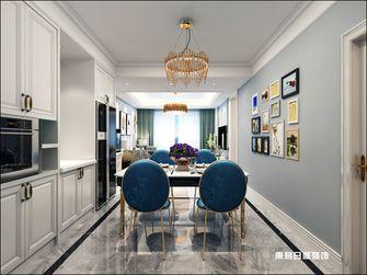 90平米三室两厅欧式风格餐厅欣赏图