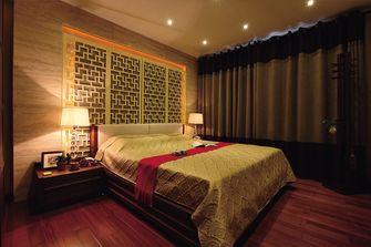 120平米三室两厅东南亚风格卧室装修图片大全