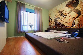 130平米三室两厅混搭风格卧室装修案例