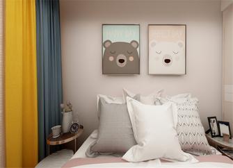 130平米三室两厅欧式风格儿童房图片