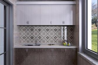 140平米四室两厅美式风格厨房装修效果图