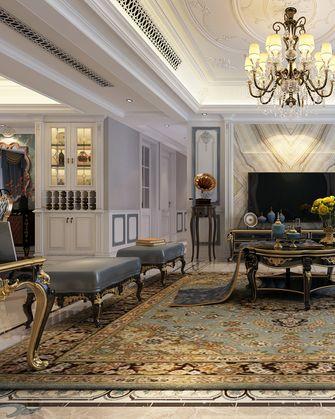 140平米复式法式风格客厅欣赏图