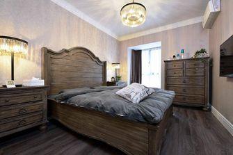 70平米英伦风格卧室装修案例