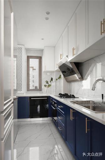 90平米欧式风格厨房图