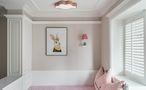 100平米三室一厅美式风格儿童房设计图
