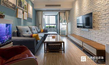 富裕型70平米公寓北欧风格客厅装修效果图