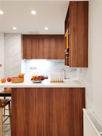 120平米三室两厅北欧风格厨房图片大全