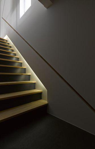 140平米复式现代简约风格楼梯装修图片大全