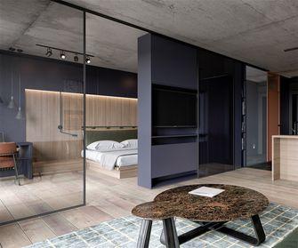 50平米一居室混搭风格卧室欣赏图