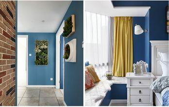 富裕型110平米三室两厅英伦风格梳妆台图