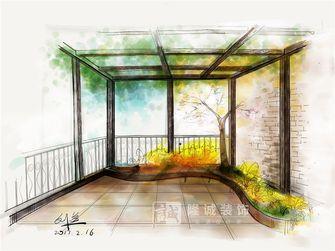 富裕型100平米新古典风格阳光房效果图