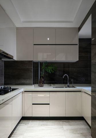 90平米三英伦风格厨房装修案例