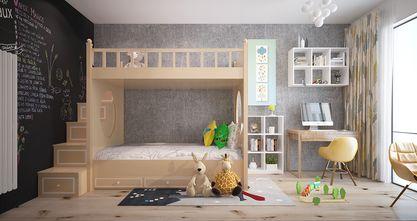 90平米三室一厅现代简约风格儿童房装修效果图