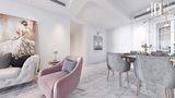 140平米四室一厅法式风格餐厅图