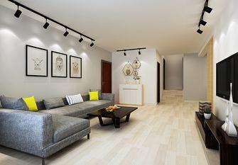 140平米四北欧风格客厅效果图