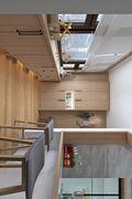 100平米三室一厅日式风格玄关图片