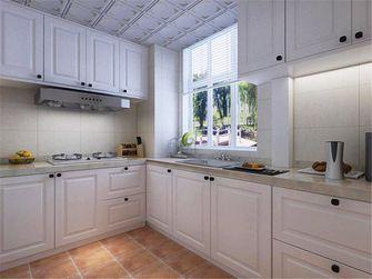 90平米三室两厅地中海风格厨房橱柜设计图