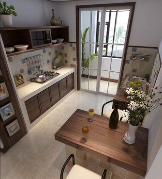 80平米三室两厅东南亚风格厨房图