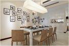 经济型100平米三室两厅现代简约风格餐厅欣赏图