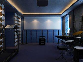 100平米三欧式风格影音室设计图