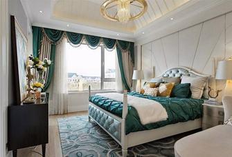 140平米四室一厅现代简约风格卧室装修图片大全