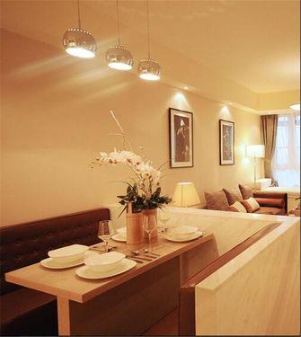 经济型60平米一室一厅法式风格餐厅图