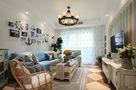 90平米地中海风格客厅沙发装修效果图